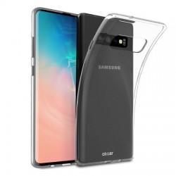 Silikonový kryt pro Samsung Galaxy S10 - průhledný