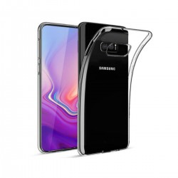 Silikonový kryt pro Samsung Galaxy S10e - průhledný