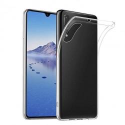 Silikonový kryt pro Huawei P30 - průhledný