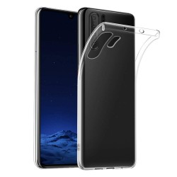Silikonový kryt pro Huawei P30 Pro - průhledný