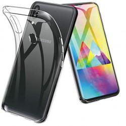 Silikonový kryt pro Samsung Galaxy M20 - průhledný
