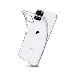 Silikonový kryt pro Apple iPhone 11 Pro Max - průhledný