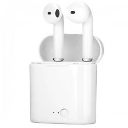 Bezdrátová sluchátka AirPods i7-mini + nabíjecí box bílý