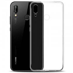 Silikonový kryt pro Huawei Y7 (2019) - průhledný