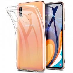 Silikonový kryt pro Samsung Galaxy A60 - průhledný