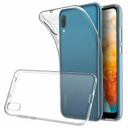 Silikonový kryt pro Huawei Y6 (2019) - průhledný