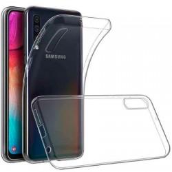 Silikonový kryt pro Samsung Galaxy A70 - průhledný