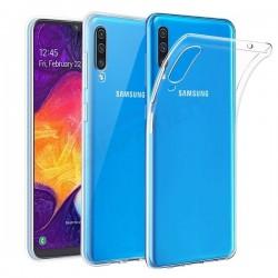 Silikonový kryt pro Samsung Galaxy A90 - průhledný