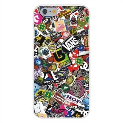 Kryt Sticker Bomb pro Apple iPhone 4/4S
