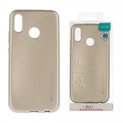 Pouzdro Mercury i-Jelly Metal pro Samsung Galaxy S10 - zlaté