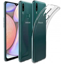Silikonový kryt pro Samsung Galaxy A10s - průhledný