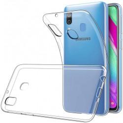 Silikonový kryt pro Samsung Galaxy A40 - průhledný