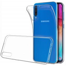 Silikonový kryt pro Samsung Galaxy A50 - průhledný