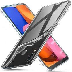 Silikonový kryt pro Samsung Galaxy A20S - průhledný