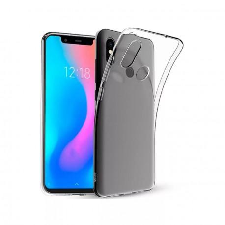 Silikonový kryt pro Xiaomi Mi 8 - průhledný