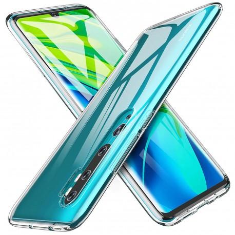 Silikonový kryt pro Xiaomi Mi Note 10 - průhledný