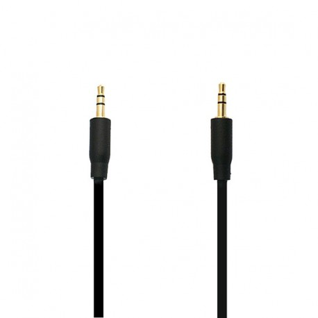 Adaptér (audio line in) 3.5mm - 3.5mm 1 Metr - černý