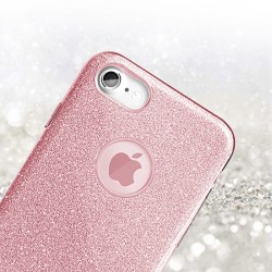 Kryt Shining pro Apple iPhone XR - růžový