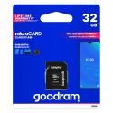 GOODRAM microSDHC 32 GB + adapter