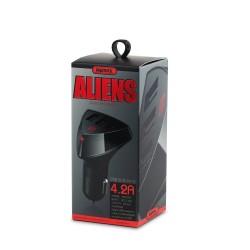 Nabíječka do auta Remax Aliens RC-C304 4.2A, 3X USB
