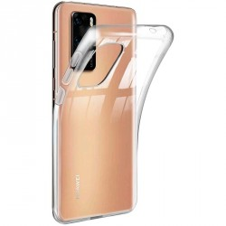 Ultratenký silikonový kryt pro Huawei P40 Pro/Plus - průhledný
