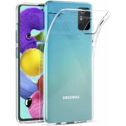 Ultratenký silikonový kryt pro Samsung Galaxy A51 - průhledný