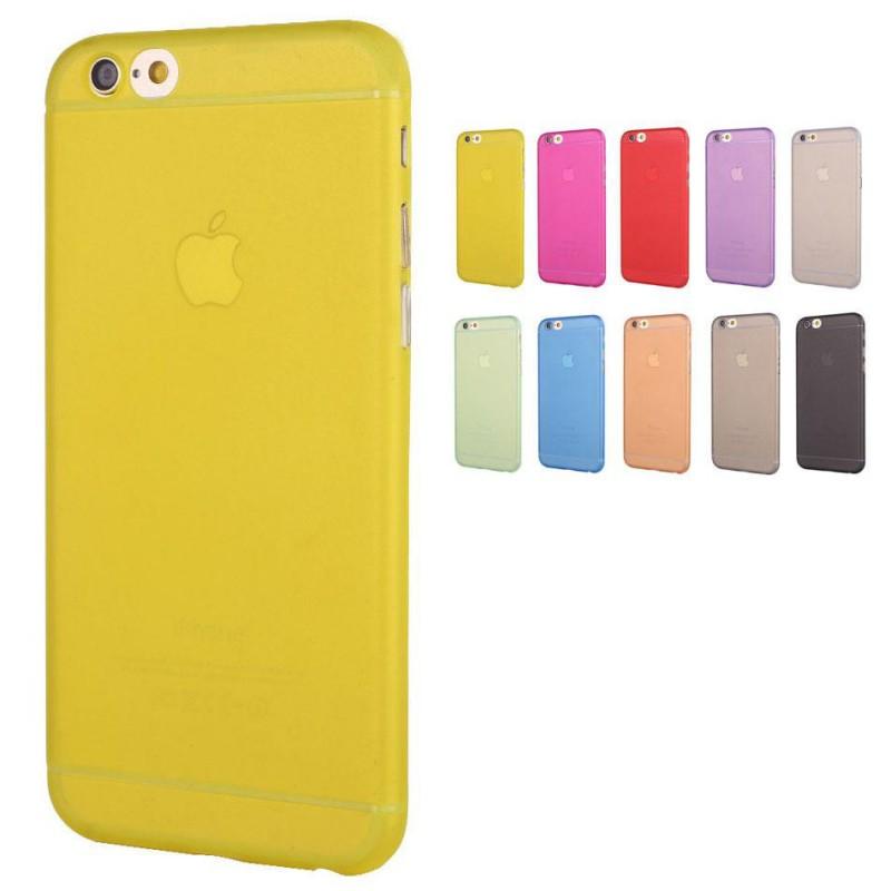 ... Ultratenký kryt Apple iPhone 6 Plus   6S Plus žlutý ... b165fff0de2