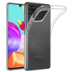 Ultratenký silikonový kryt pro Samsung Galaxy A41 - průhledný