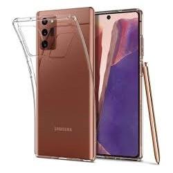 Ultratenký silikonový kryt pro Samsung Galaxy Note 20 - průhledný