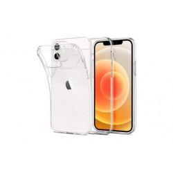 Ultratenký silikonový kryt pro Apple iPhone 12 - průhledný