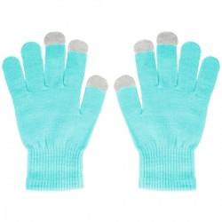 Rukavice pro ovládání dotykových zařízení - modré