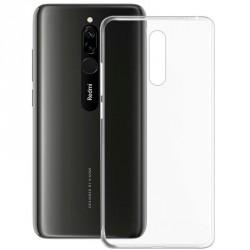 Silikonový kryt pro Xiaomi Redmi 8 Pro - průhledný