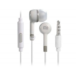 Špuntová sluchátka Xiaomi Piston - bílé