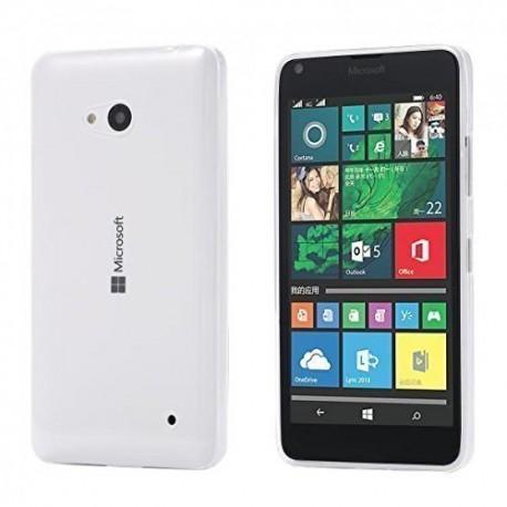 Ultratenký silikonový kryt pro Microsoft Lumia 640 - průhledný