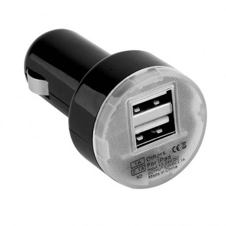 Universální duální USB autonabíječka 2.1A + 1A s přepěťovou ochranou
