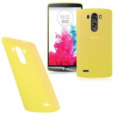 Ultratenký kryt pro LG G3 žlutý