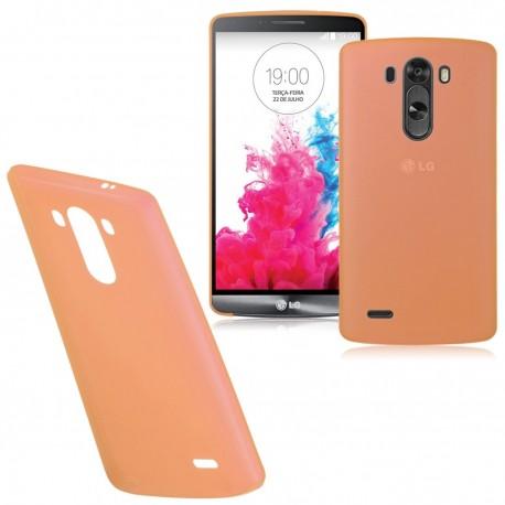 Ultratenký kryt pro LG G3 oranžový
