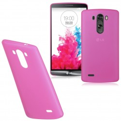 Ultratenký kryt pro LG G3 růžový