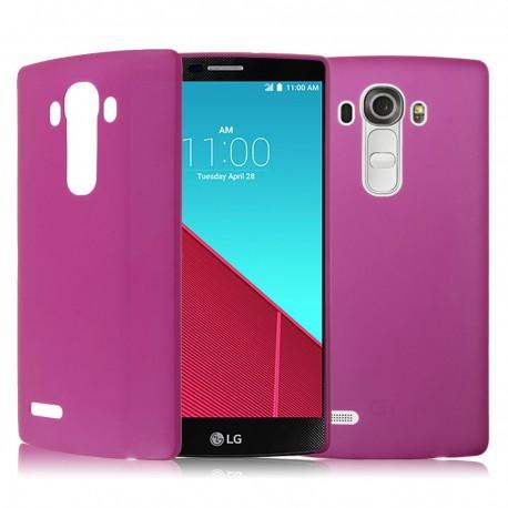 Ultratenký kryt pro LG G4 růžový