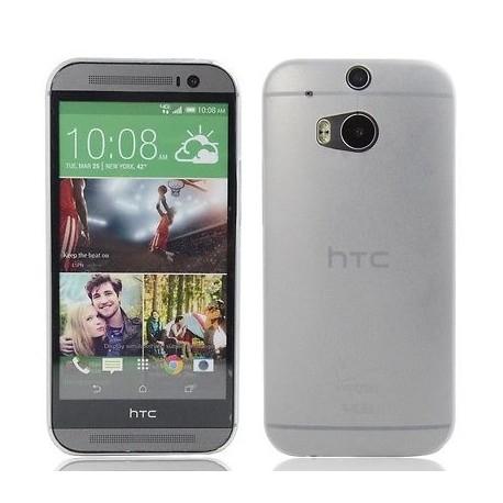 Ultratenký kryt pro HTC One M8 bílý