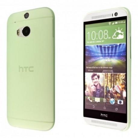 Ultratenký kryt pro HTC One M8 zelený