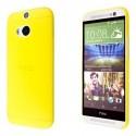 Kryt pro HTC One M8 žlutý