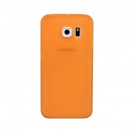 Ultratenký kryt pro Samsung Galaxy S6 oranžový
