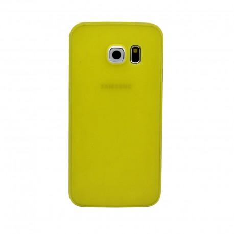 Ultratenký kryt pro Samsung Galaxy S6 žlutý