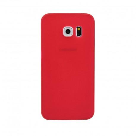 Ultratenký kryt pro Samsung Galaxy S6 červený