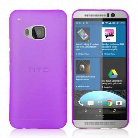 Ultratenký kryt pro HTC One M9 fialový