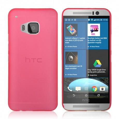 Ultratenký kryt pro HTC One M9 červený