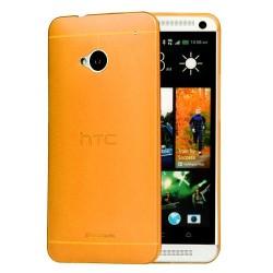 Kryt pro HTC One M7 oranžový
