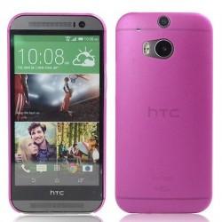 Kryt pro HTC One M8 růžový