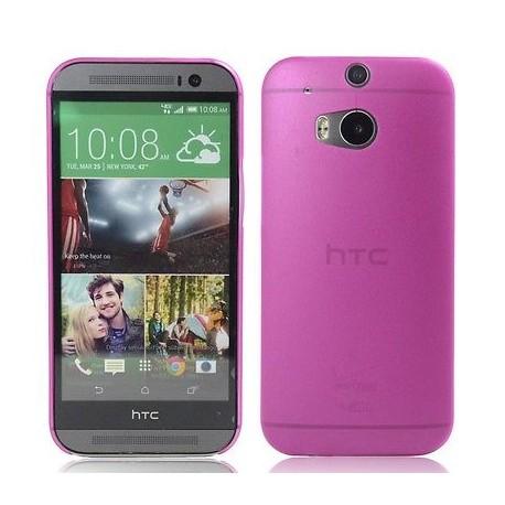 Ultratenký kryt pro HTC One M8 růžový